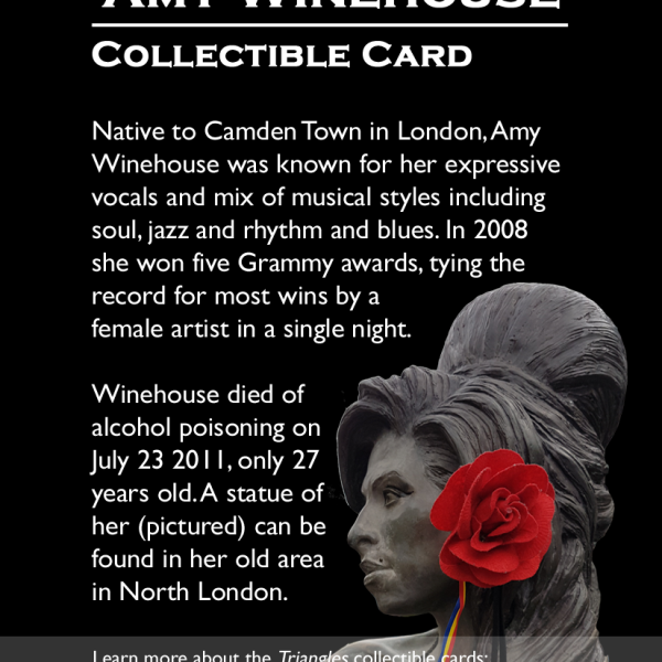 London: Amy Winehouse