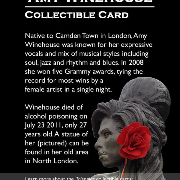 London: Amy Winehouse