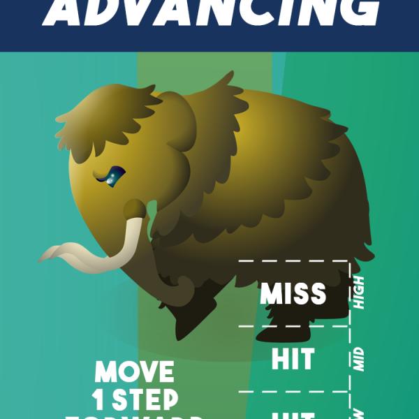 """Advancing"""