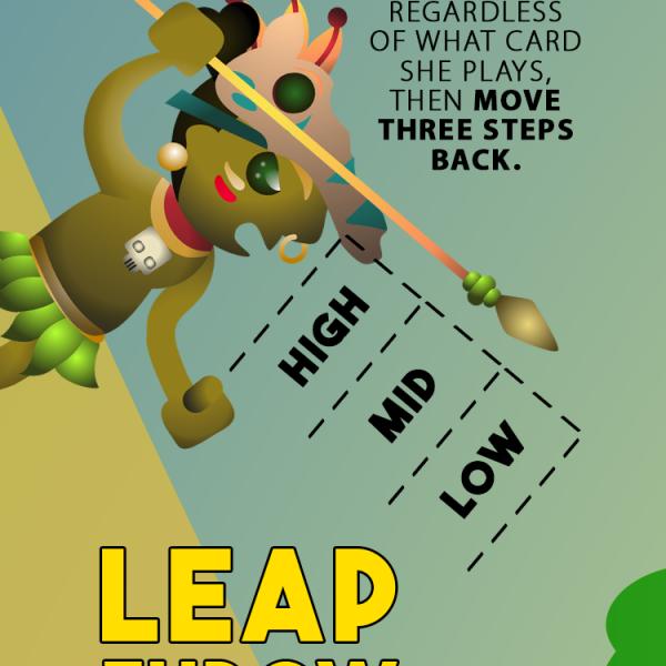 Leap throw